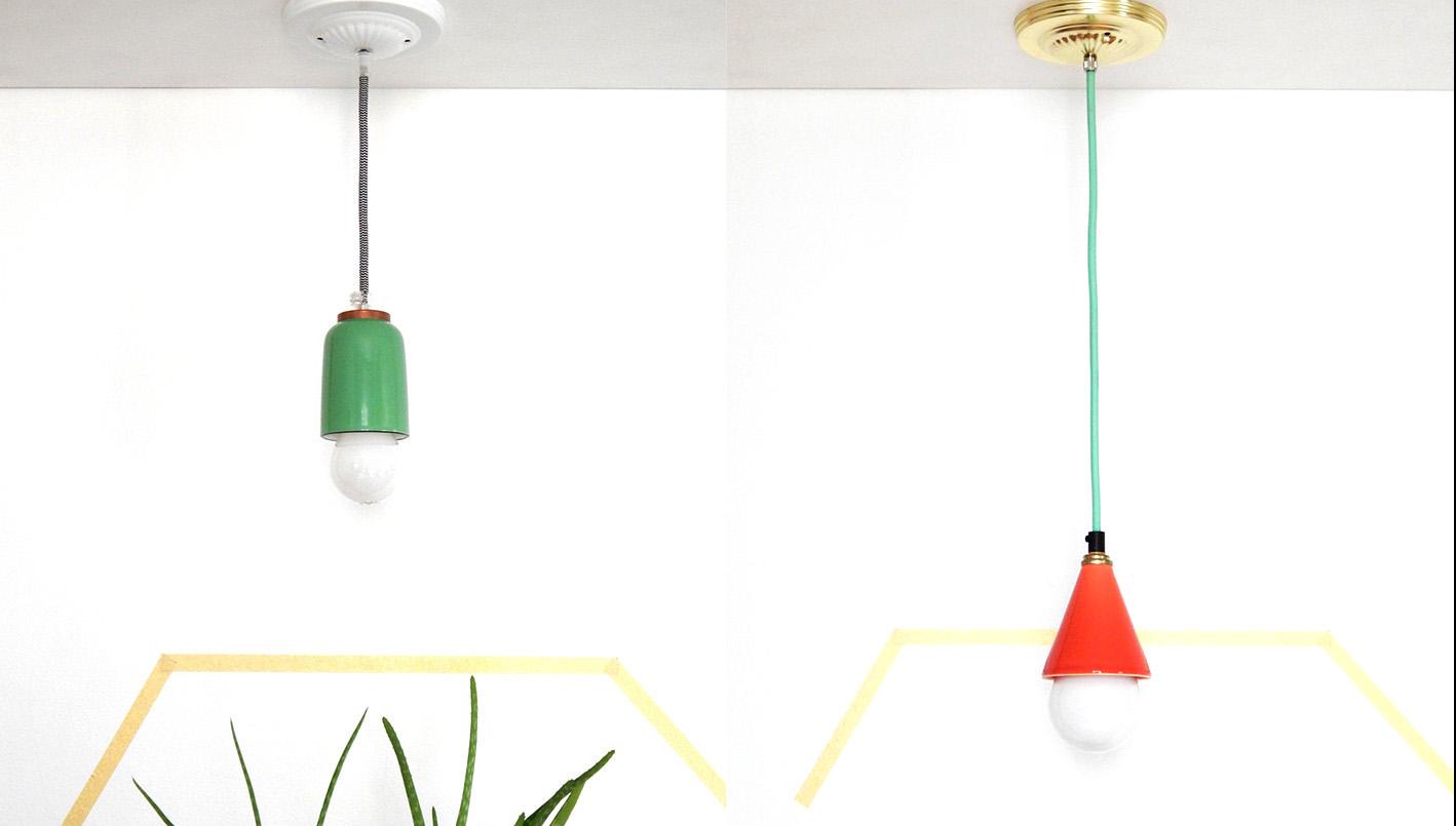 des luminaires aux tons pastel des ann es 50 et 60 con us au qu bec joli joli design. Black Bedroom Furniture Sets. Home Design Ideas