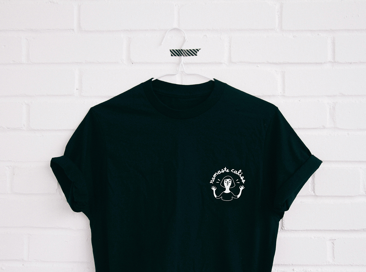 t-shirt_namaste_noir_anaroy