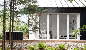 chalet - design -architecture - lanaudière - shed - 11