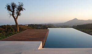 infinity pool - design - pool - adalucia - architecture