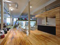 Les bureaux de Burton Snowboards à Montréal, un environnement ultra inspirant signé Atelier Pierre Thibault