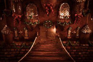 gingerbread-doorway