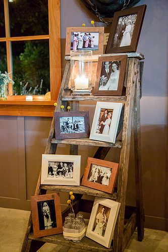 Echelle En Bois Vintage : Rustic Decorating Ideas for a Ladder