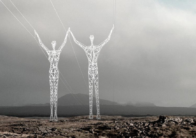2-Electrical-Silhouette-Pylons-