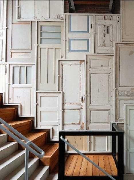 Des id es originales pour recycler vos vieilles portes en for Fenetre originale