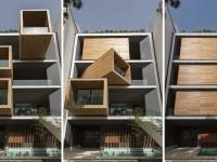 Une maison dont les pièces peuvent bouger jusqu'à 90º pour s'adapter à la température