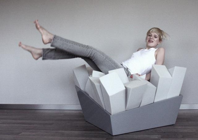 Le fauteuil parfait pour lire pendant des heures et des heures joli joli design Fauteuil lecture design