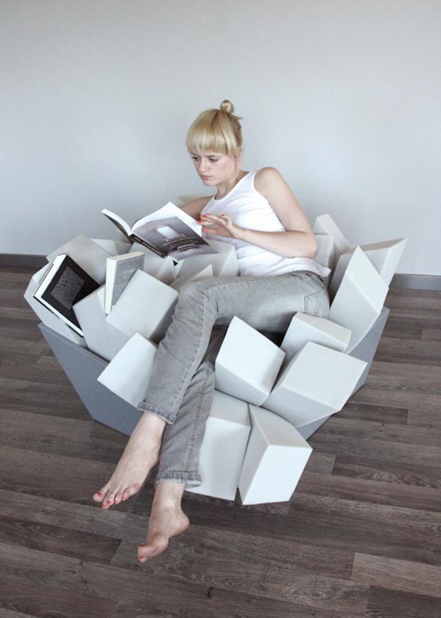 le fauteuil parfait pour lire pendant des heures et des heures - Fauteuil Pour Lire