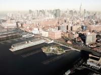 Projet d'un parc flottant à New York