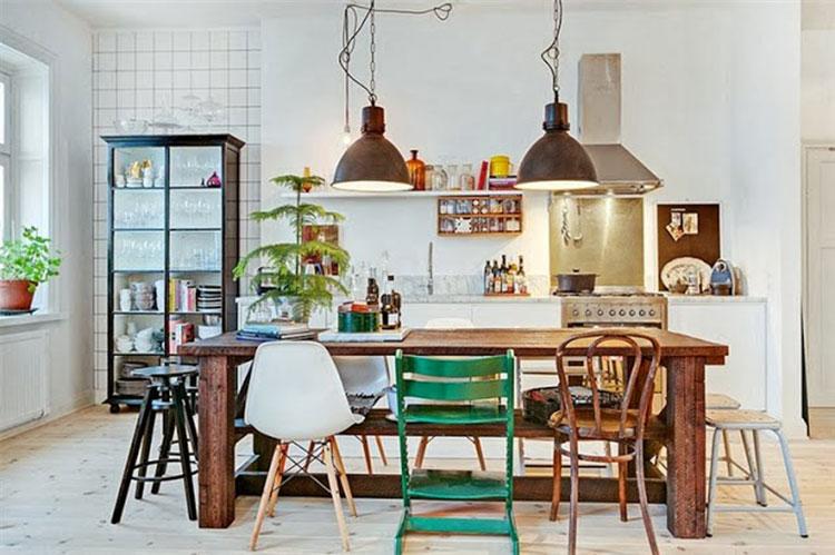 Salle A Manger L Art De Combiner Sa Table Avec Plusieurs Chaises