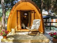 Le Pod – Une sorte d'habitation bien différente sur les terrains de camping au Québec