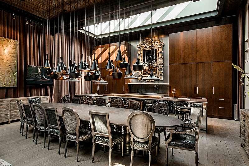 une magnifique demeure au style industriel sur le plateau mont royal pour 3 000 000 joli joli. Black Bedroom Furniture Sets. Home Design Ideas