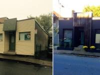 Il transforme une petite imprimerie en mini-maison pour y vivre dans le quartier St-Sauveur à Québec
