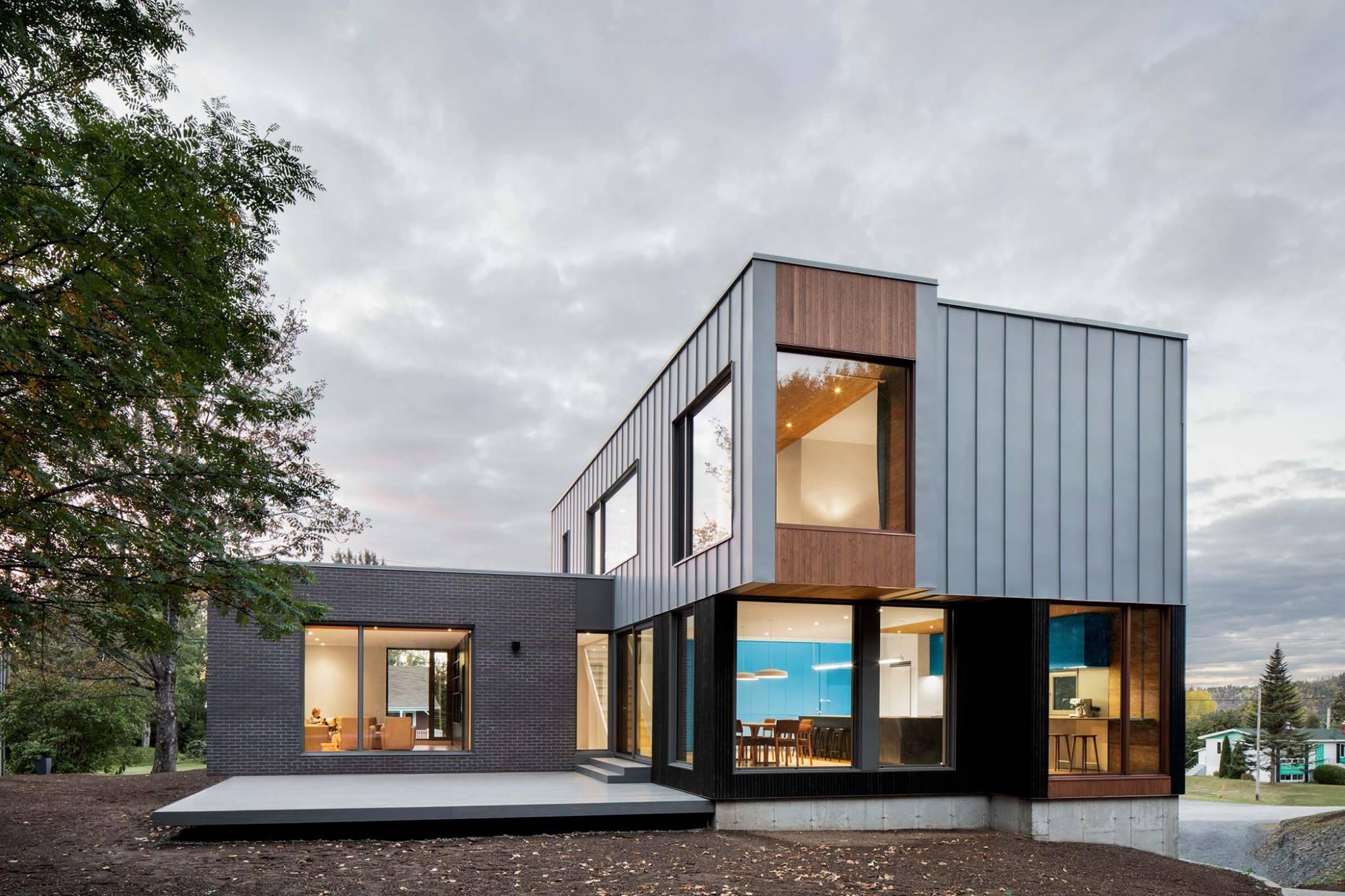 La superbe r sidence du bic rimouski une transformation compl te d 39 un - Architecture petite maison ...