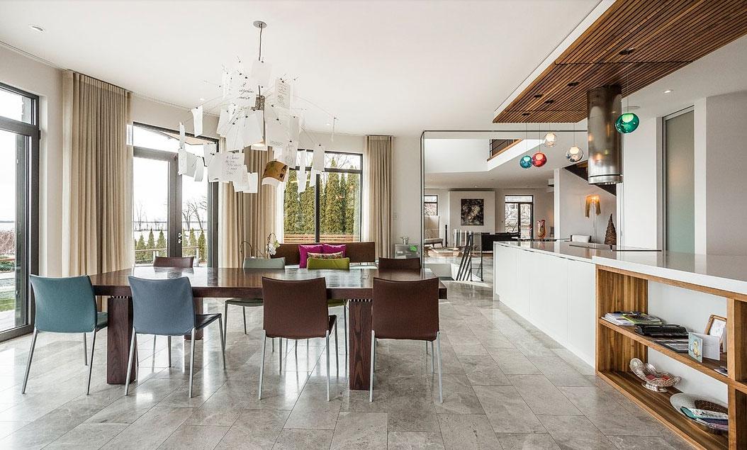 Luxe design et dolce vita cette somptueuse maison beaconsfield joli jo - Maison de millionnaire ...