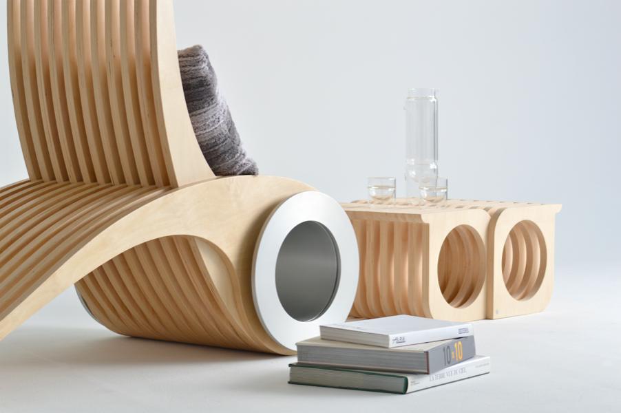 Chaise design québécois