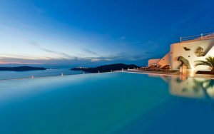 infinity pool - design - pool - greece - architecture 09