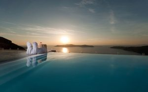 infinity pool - design - pool - greece - architecture 10