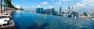 infinity pool - design - pool - singapore - architecture 02