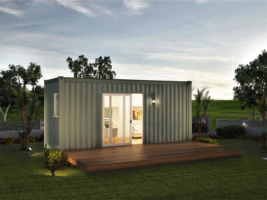 Vivre dans un conteneur joli joli design for Conteneur logement
