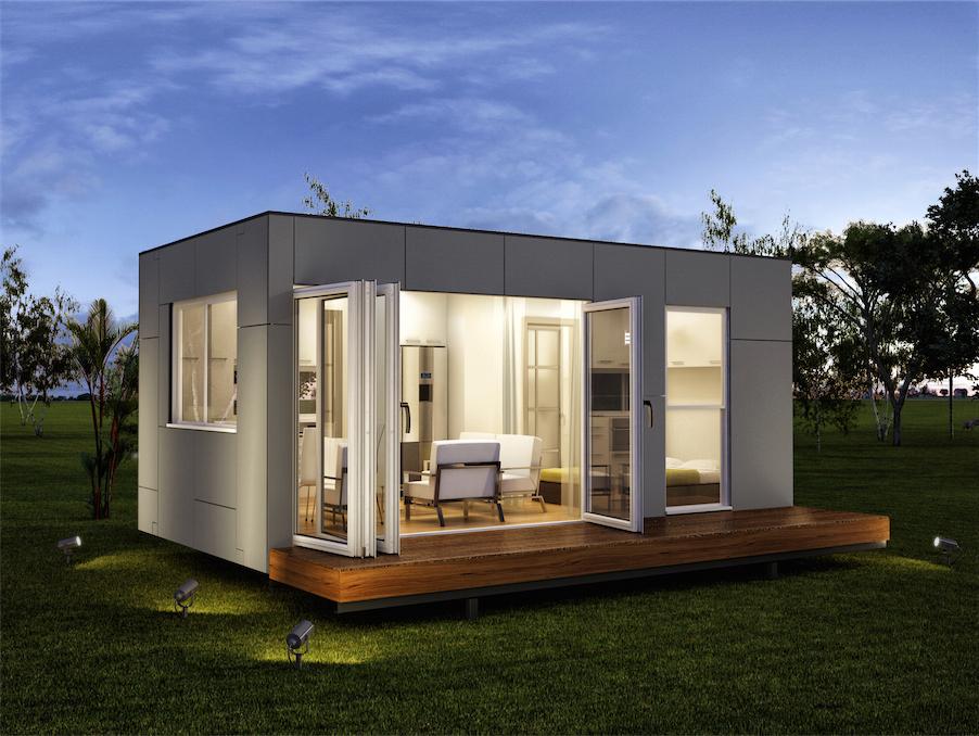 Vivre dans un conteneur joli joli design for Maison fait de conteneur