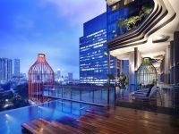 Hallucinant : l'hôtel Parkroyal à Singapour