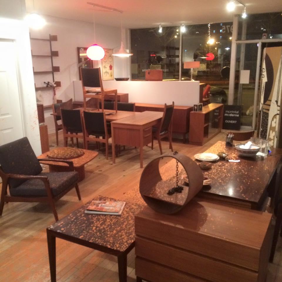 Des commerces de meubles mid century victimes de for Meuble hochelaga montreal