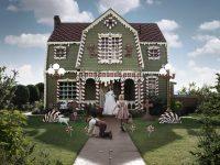 Des gâteaux hyper réalistes et une maison en pain d'épices tout droit sortie du conte d'Hansel et Grethel!