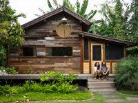 Une mini-maison de rêve construite sur une ferme de papaye à Hawaii!
