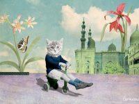 Affichez votre amour pour les chats avec les illustrations de SoMeow de Montréal!