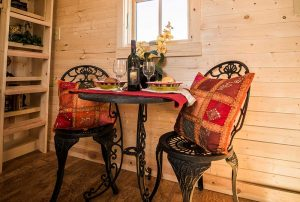 Wine and dine someone special in the Tumbleweed Elm.