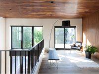 Résidence GOUNOD : Un duplex complètement rénové en résidence unifamiliale dans le quartier Villeray à Montréal (avant-après)