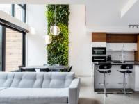 Le Treehouse : De nouveaux condos avec un mur intérieur végétal dans St-Henri