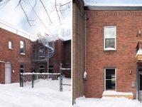 Projet Rivard : tranformation d'un duplex des années 1900 en maison unifamiliale sur le Plateau Mont-Royal
