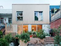 Résidence Équinoxe – une magnifique maison unifamiliale de type minimaliste à Montréal