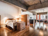 Un loft installé dans l'ancienne Biscuiterie Viau dans Hochelaga-Maisonneuve