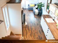 Le Chêne : Une jolie mini-maison sur roues par l'entreprise québécoise Minimaliste