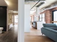 De splendides nouveaux lofts construits dans une ancienne usine à confiture à Montréal