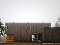 La Paroi – Une résidence faite en bois de grange dans La Malbaie