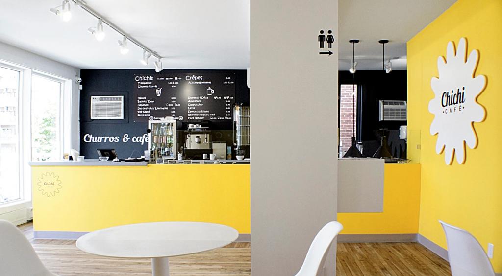 Le chichi caf un design int rieur qui se d marque for Designer interieur rive sud