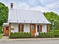 Une jolie maison centenaire à vendre à St-Jérôme pour 224 000$