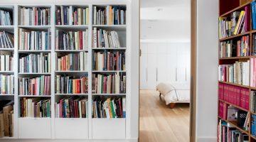 L A Z A R D : Une maison complètement transformée pour des besoins familiaux à ville Mont-Royal