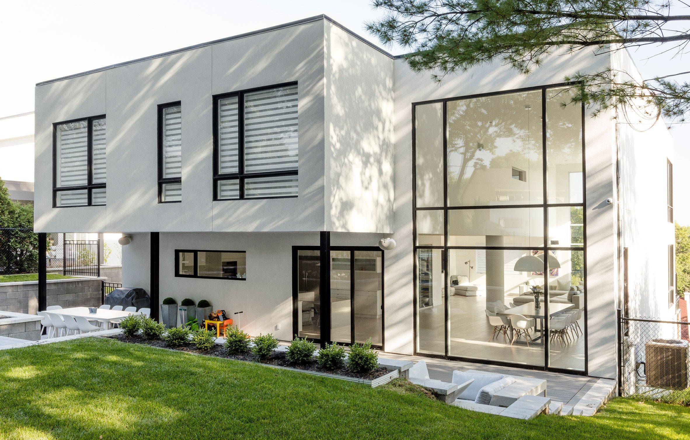 une jolie maison d 39 un joueur professionnel de hockey qu bec faite par parka architecture. Black Bedroom Furniture Sets. Home Design Ideas